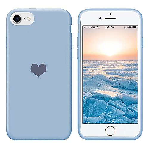 13peas Für iPhone 6 Hülle Silikon iPhone 6S Schutzhülle Handyhülle iPhone 6 Silikonhülle Herz Motiv schutzschale iPhone 6 Hüllen Tasche Handytasche Weiche Etui (9, iPhone 6/6S)