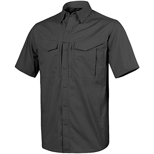 Helikon Hombre Defender Mk2 Manga Corta Camiseta Negro Tama�