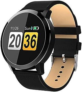 WJFQ Reloj Inteligente Reloj Pulsera Inteligente a Prueba de Agua rastreador de Ejercicios for iOS Android for Hombre y Mujer Unisex Adulta