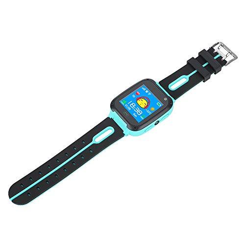 Aeloa Kid Smart Watch, Anti-verlorene Tracker Safe Touch Screen Kid Kinderuhr (Farbe : Grün)