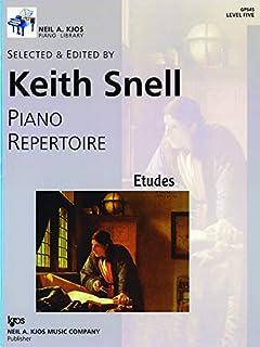 Piano Repertoire Level 5 Etudes