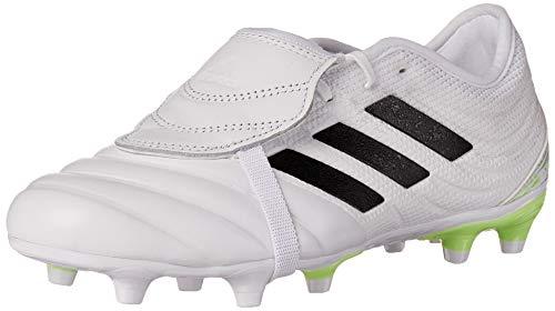 adidas Copa Gloro 20.2 Firm Ground - Zapatillas de fútbol para hombre, blanco (negro, verde, blanco, (White/Black/Signal Green)), 40 EU