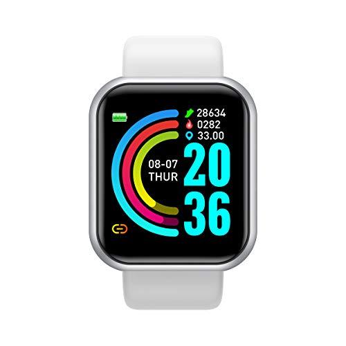 IKÖNE Smartwatch L18 | Reloj Inteligente | Impermeable | Monitor de Frecuencia...