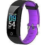 EFO SHM Fitness Armband mit Blutdruckmessung Fitness Tracker Wasserdicht IP68