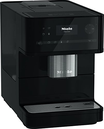 Miele CM6150 Bean-to-Cup Coffee Machine, 1.5 W, Obsidian Black