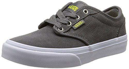 Vans Vans Y Atwood Quilt, Unisex-Kinder Sneakers, Grau (Quilt/Pewter/Marshmallow), 33 EU