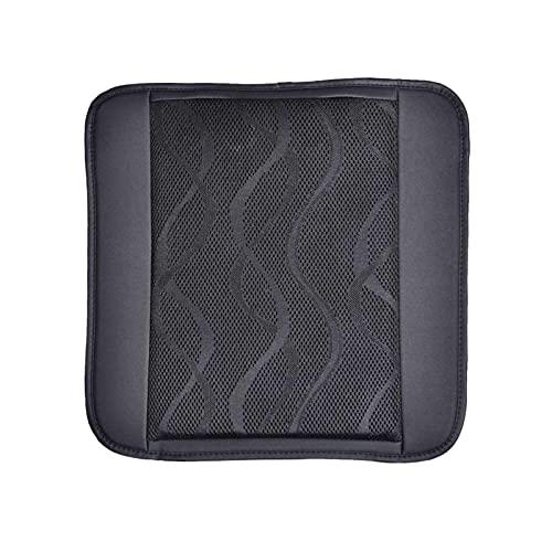 Magent USB Cojin Asiento Coche para Verano con Ventilador Transpirable Cómodo para Vehículos, Oficina