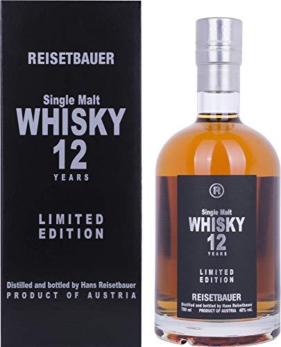 Reisetbauer Single Malt 12 Years Old  Whisky (1 x 0.7 l)