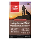 ORIJEN Dog Regional Red Recipe, 25lb, High-Protein Grain-Free Dry Dog Food,...