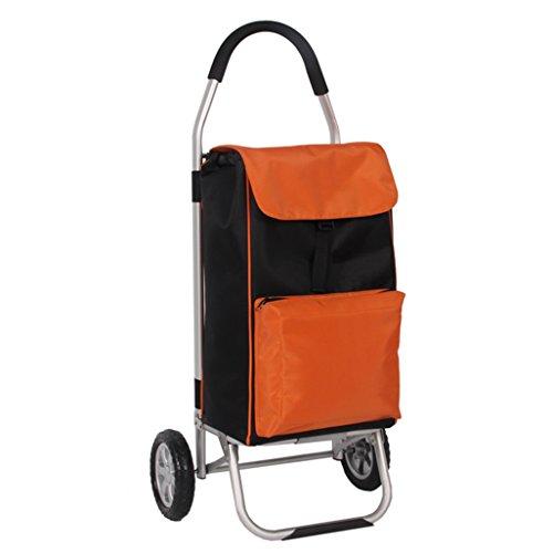 De Shopping Trolley alu design Sac à provisions Caddie Scooter-Aluminium Bleu