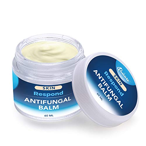 Respond by Quicare® Antifungal Balm Natural Formula Natural Formula for Athletes Foot, Ringworm, Jock Itch and Fungal Infections. Effectively Soothes Itchy, Scaly or Crack for Dry Skin and Feet, 2 oz