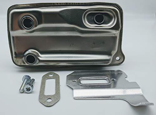 The DUKE'S STIHL TS410 TS420 Muffler with Gasket Heat Shield Hardware 4238 140 0611