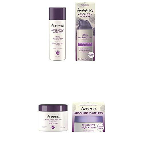 Aveeno Absolutely Ageless Anti-Wrinkle Facial Moisturizer + Aveeno Absolutely Ageless Restorative Night Cream Facial Moisturizer