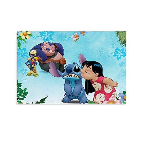 SOROP Nom des Film - Poster decorativo da parete Disney, 20 x 30 cm