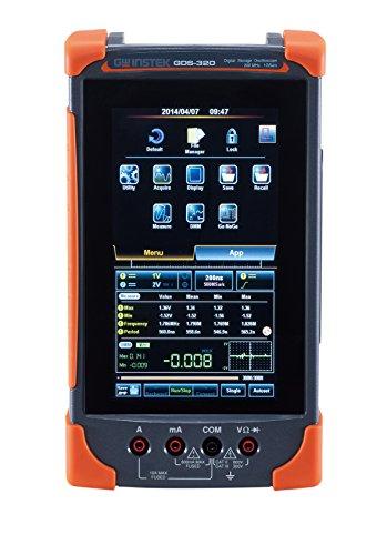 GW Instek GDS-307 - Osciloscopio de pantalla táctil (digital, 70 MHz, 2 canales, 7