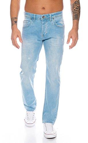 Rock Creek Herren Jeans Hellblau RC-331 [W34 L30]