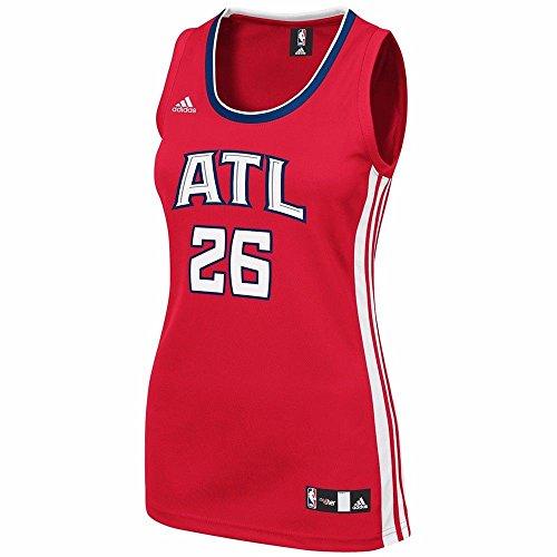 adidas Kyle Korver Atlanta Hawks NBA Women's Red 2014-15 Replica Jersey (S)