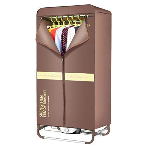 QFF@ Secadora de Ropa Eléctrica Portátil, Secadora por Ventilación, 1000W, Gran Capacidad...