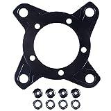 kaakaeu Fahrrad Kettenblatt Spider Adapter für 104BCD Scheibenhalter Ständer für Bafang Elektromotor für Mountainbike Ersatzteil Zubehör