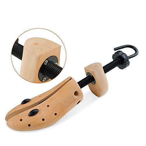 ZHANGCHAO Schuhspanner Damen Und Herren,Zwei-Wege-Schuhspanner Shoe Tree Natural Wood Set Von - Holzexpander Für Breite Füße, Ballen Oder Hornhaut (2Er Pack),Women
