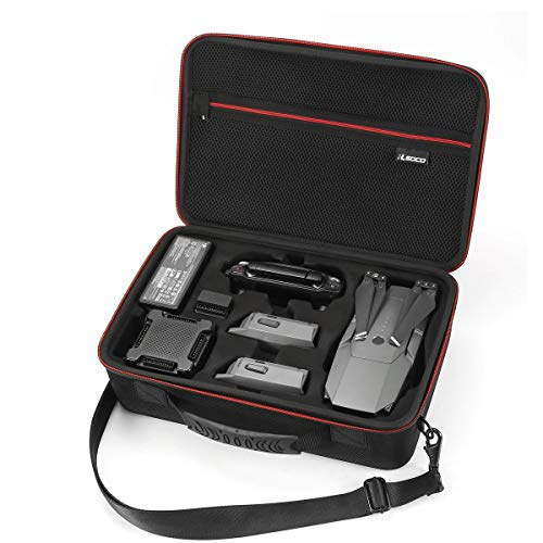 RLSOCO Carrying Case for DJI Mavic Pro&Platinum Drone, Battery × 3, Propellers, Controller and Other Accessories-(NOT Fit Mavic 2 Pro&Zoom)