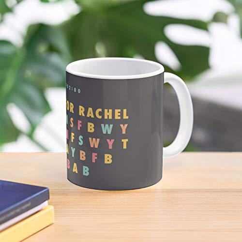 For Meme Is Rachel Tiktok This Mug - Taza de café de regalo de moda superventas negra, blanca, cambia de color 11 onzas, 15 onzas para todos…