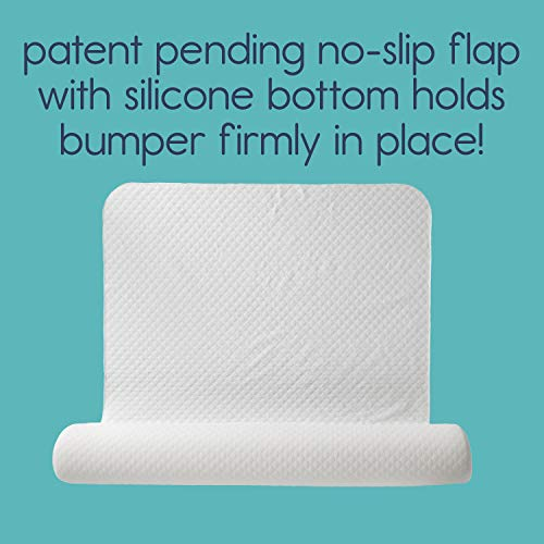[2-Pack] hiccapop Foam Bed Bumpers for Toddlers, Toddler Bed Rails with Water-Resistant Cover for Kids - Bed Guard Rail for Toddlers   Fits Twin, Queen, King Beds