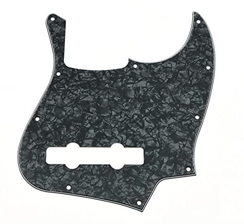 Placa protección Guitarra Black Pearl 5 String PickGuard Scrach Placa para Bass De Jazz golpeador