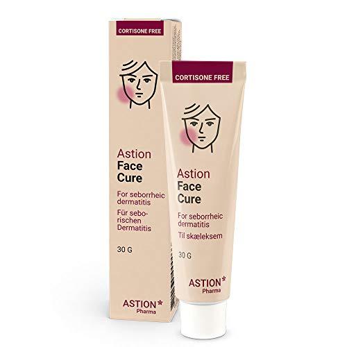 Astion Pharma Schuppenflechte Creme | Neurodermitis Salbe fürs Gesicht | Seborrhoisches Ekzem | Kortisonfreie, Juckreizlindernde Behandlung die das natürliche Schutzschild der Haut wiederherstellt 30g