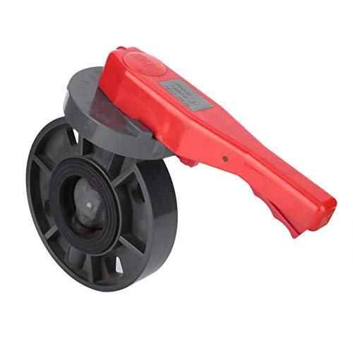 Buen sellado Válvula de control de flujo de plástico Peso ligero Estructura simple Brond Nuevo para piscina(2 inches)