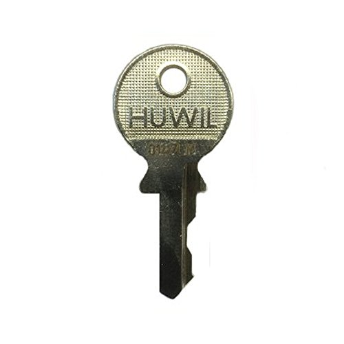 HUWIL Ersatzschlüssel N - Schließung N 2001 bis N 2207 - Nachschlüssel - Zusatzschlüssel - u.a. für Hebelzylinder,Möbelschlösser,Schrankschlösser - Schließung N2126