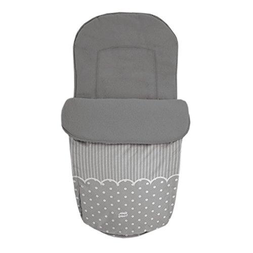 Baby Star 25477 – Sac pour siège universelle, couleur gris
