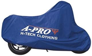 A pro Waterproof Rain Cover Protection Motorcycle Motorbike Scooter Bike Blue XL
