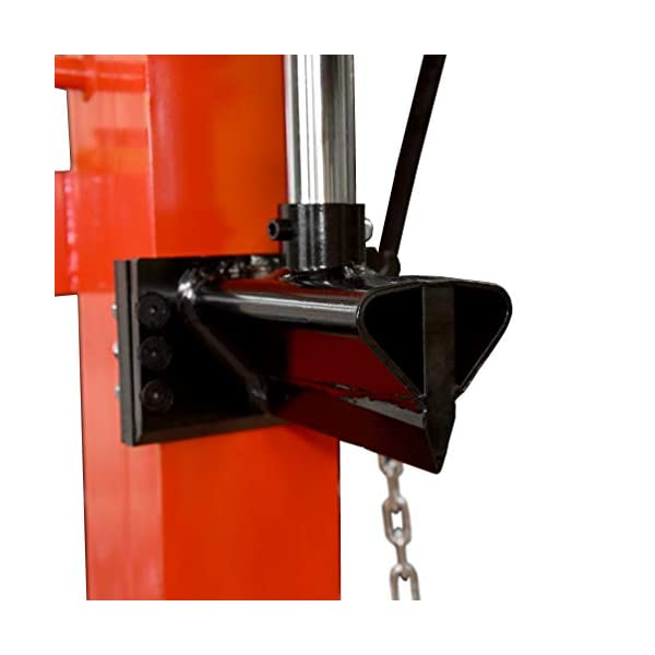 Cortador de leña vertical HECHT 6120 con motor eléctrico 3500 W – 12 toneladas