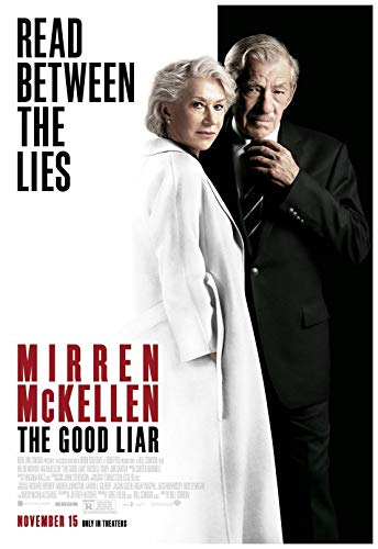 The Good Liar Movie Poster 24 x 36 Inches Full Sized Print Unframed Ready for Display