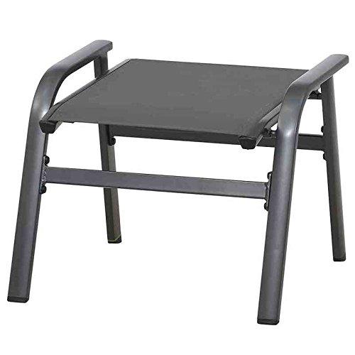 MWH Core Hocker, Aluminium, grau, 56.5 x 60.5 x 48 cm, 879442