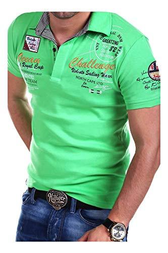 MT Styles Poloshirt Challenge T-Shirt R-2728 [Grün, XL]
