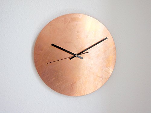Copper Raw - Wanduhr - 28 cm