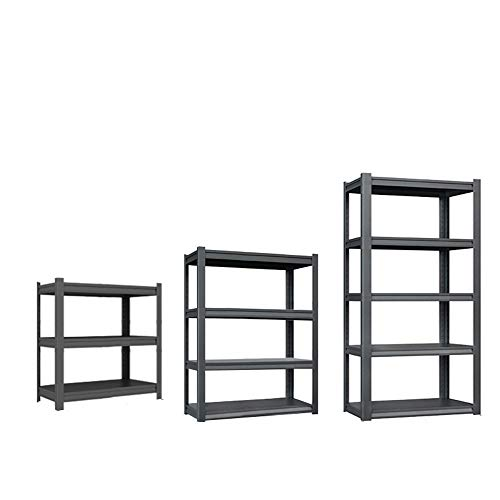 YAODFYL Storage Rack,shelving Unit,for Garages and Sheds Multi-Purpose Shelving Organizer for Garages and Sheds Office, Kitchen, Bedroom, Bathroom, Laundry Room, Dressers,metal Household Storage Rack