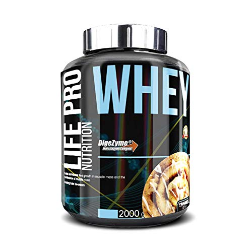 Life Pro Whey 2Kg | Suplemento Deportivo, 78% Proteína de...