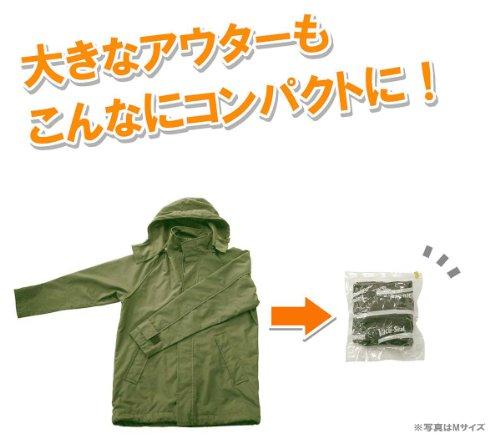 【Amazon.co.jp限定】衣類圧縮袋M・L各5枚10枚組(BonVoyageGoGoセット)日本製