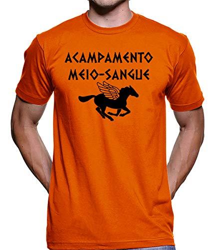 Camiseta Acampamento Meio Sangue Percy Jackson 2892 (G)