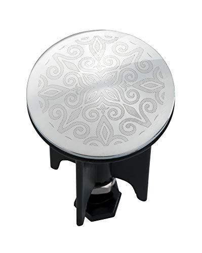 WENKO Waschbeckenstöpsel Pluggy® Mandala