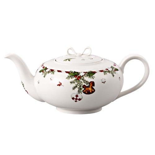 Hutschenreuther 02460-725492-14230 Weihnachtsleckereien Teekanne 6 Personen, im Geschenkkarton