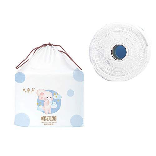 XIRUI 100% Weiche Baumwolle Einweg-Reinigungstuch, Gesichtsreinigungs-Baumwolle Vlies-Baumwolle Nass- Und Trockenwaschhandtuch, Mehrzweck-einweg-gesichtstuch, Make-up Entfernen Und Reinigen