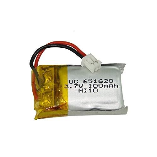 N/V 3,7 V 100 mAh Lipo-Akku und Ladegerät für Cheerson Cx-10 Cx-10a FQ777-124 Hubsan Q4 Wltoys V272 Mini-RC-Quadcopter-Drohnenbatterie Orange