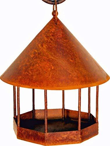 Dewoga Vogelhaus zum Hängen H ca 30 cm Vogelfutterhaus Vogelhäuschen