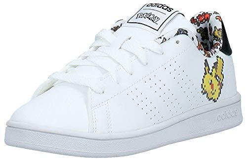 Adidas Advantage K, Zapatos de Tenis Unisex niños, FTWR...