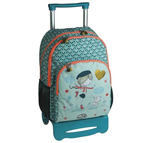 mochila escolar doble carro SKATER by BUSQUETS