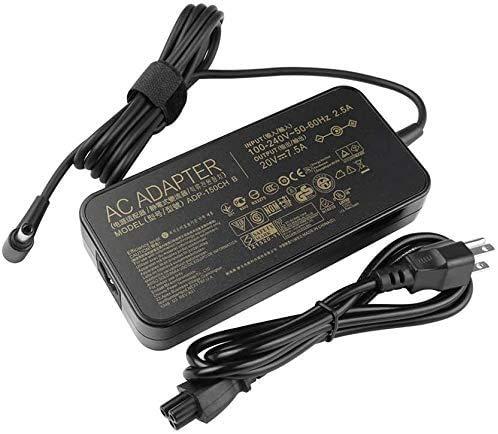 KK LTD fit for 20V 7.5A 150W AC Adapter Charger Replacement fit for ASUS ADP-150CH B ADP-150CH BB A18-150P1A 0A001-00081500 0A001-00081600 ROG Strix Scar III G531GD G531GT ROG Strix G731GT
